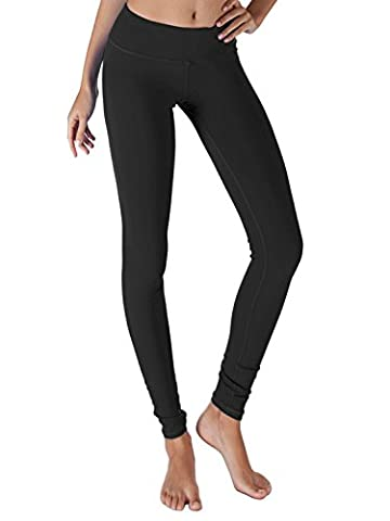 Yogareflex - Yoga Pants for Women - Sports Yoga Leggings Pant - Hidden Pocket (From XS to 3XL) , BLACK , - Loose Forms Pack