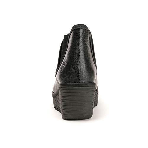 Antiscivolo Stivali Sfoderati Black donna da Black London Fly Yat qU4x6wtP1