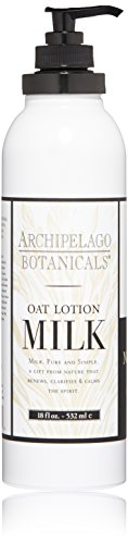 Cream Milk Body (Archipelago  Oat Milk Body Lotion ,18 Fl Oz)