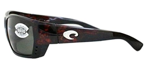 Costa Mar Tuna Tortoise Alley Del Frame Gray Sunglasses w1aqwH6r