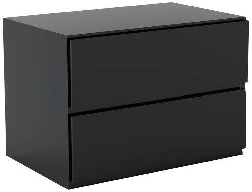 Nexera Night Stand 222206, Black by Nexera