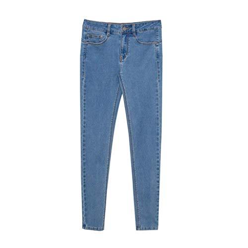 Rxf Azul Cintura Vaqueros De color 40 Pantalones Tamaño Azul Alta OtrOwz