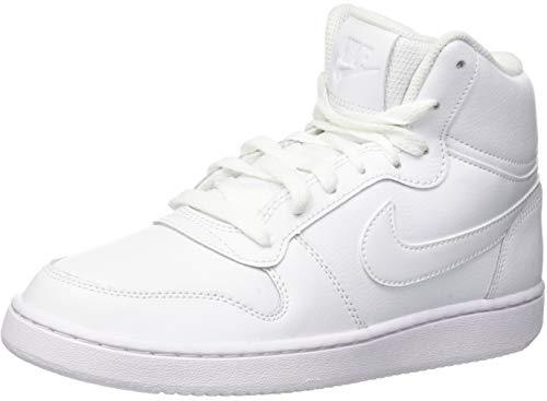 Mid White White Damen Nike Basketballschuhe 001 Ebernon Weiß YExwO