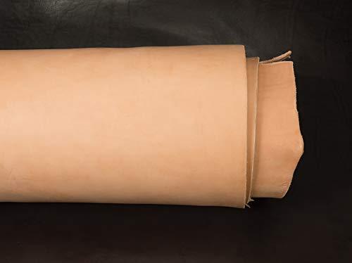 - Hermann Oak Saddle Skirting Leather, 14 to 16 oz.