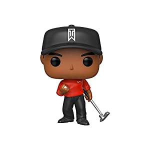 Funko Pop! Golf: Tiger Woods (Red Shirt) 5
