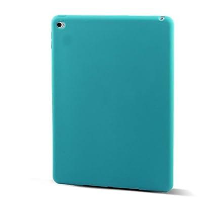 Amazon.com: eDealMax Piel goma protectora Volver Funda Azul ...