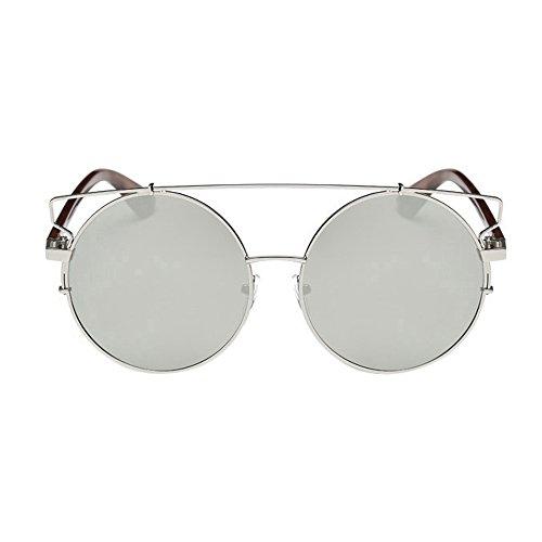 2017 Moda Aviador Gafas Polarizadas Vintage Espejo de Lente VENMO Unisex Gafas Plateado Sol 4dqaZdnHw