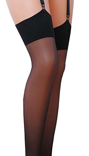 17 il strap calze classiche Nero