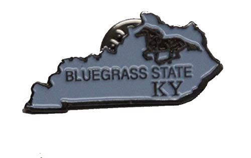 State Shaped Pin, Hat, Tie, Lapel, Etc. All States Available (Kentucky)