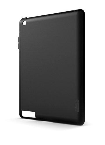 iLuv iCC818 Gel Case for Apple iPad 4, iPad 3, iPad 2 WiFi / 3G Model 16GB, 32GB, 64GB EST Model (Black)