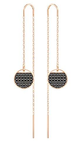 Swarovski Chain Earrings - Swarovski Ginger Chain Pierced Earrings - 5347293