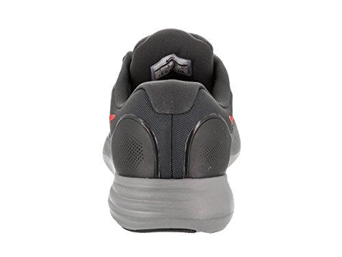 Nike Mens Lunare Apparente Scarpa Antracite Cremisi Blk Grigio