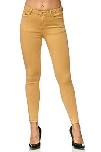 Elara Pantalón Pantalón Para Elara Amarillo Mujer Bvq7Tw