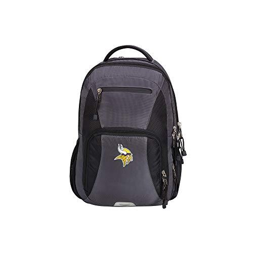 The Northwest Company NFL Minnesota Vikings Turbine Backpack Turbine Backpack, Grey, Large
