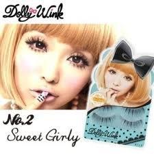 f5ac8d09fec Amazon.com : Koji DOLLY WINK Eyelash No. 2 (Sweet Girly) 2 pairs : Fake  Eyelashes And Adhesives : Beauty
