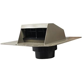 Duraflo 6013ww Roof Dryer Vent Flap With Att Collar