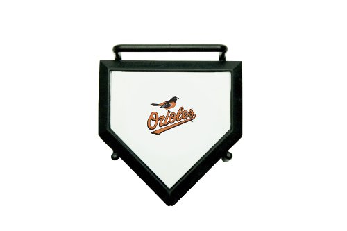 MLB Baltimore Orioles Home Plate 4-pack Coaster Set Baltimore Orioles Home Plate