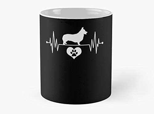 Corgi Pet Classic Mug, Standard Mug Mug Coffee Mug Tea Mug - 11 oz Premium Quality printed coffee mug - Unique Gifting ideas for Friend/coworker/loved ones