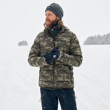 Eddie Bauer Mens CirrusLite Down Hooded Jacket