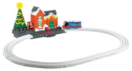 (Fisher-Price Thomas & Friends Trackmaster Christmas Delivery on Sodor)
