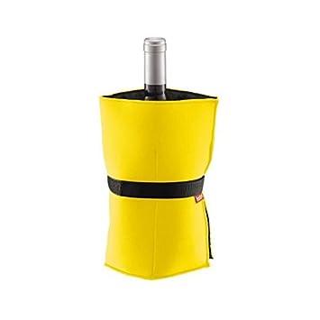 507514cd20 Bodum 11137-117 Nero Wine Cooler with Gel Bags, Yellow: Amazon.co.uk ...