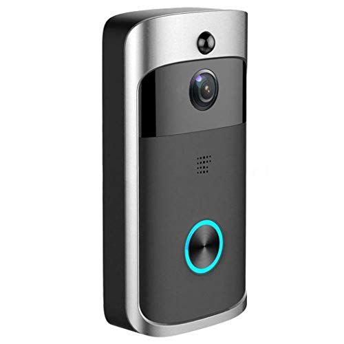 lantusi Durable Practical 166° Wide-Angle Wireless Phone Remote Doorbell Kits by lantusi (Image #1)