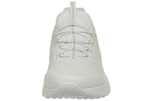 Skechers Heren Witte Burst Shinz Trainers Wht