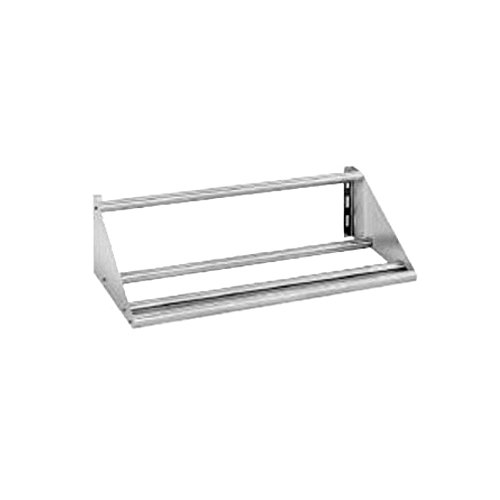 Stainless Steel Solid KD Tubular Slant Sorting Rack Shelf by Advance Tabco