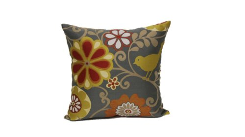 Sofa Brentwood Set - Brentwood 6211 Happy as a Lark Pillow, 18-Inch, Sunset