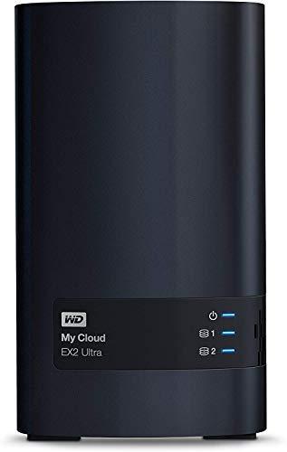 WD My Cloud EX2 Ultra, 4 TB ,Black