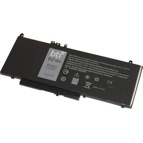 BATTERY TECHNOLOGY Batt LIPOLY DELL E5470 E55706MT4T 451-BBUN 451-BBUP 535NC