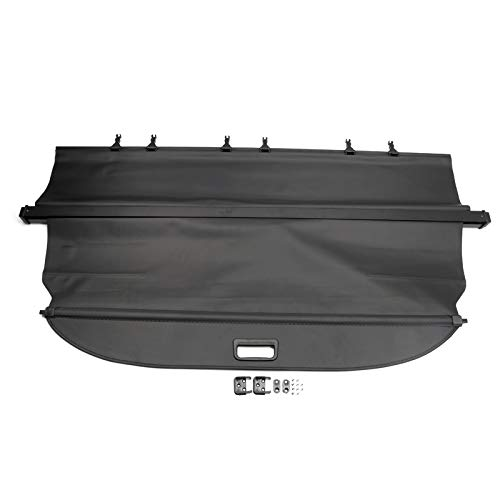 for Ford Explorer 2011-2018 Interior Retractable Rear Trunk Cargo Luggage Security Shade Cover Black 1 Set