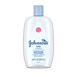 Johnson's Baby Cologne in Light Baby Fragrance, Mild Formula for Babies Delicate Skin, 6.8 fl. oz