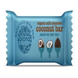 Biona Organic Milk Chocolate and Coconut Bars 40g (Wholesale by Biona by Biona