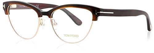 Tom Ford Women's TF5365 Eyeglasses, Havana - Tom Optical Ford Womens