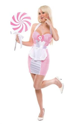 Coquette Sexy Candy Striper Sweetie Small Medium