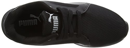 Evo Puma Black Basses Adulte Baskets Tech Trainer Noir Black St Mixte PPEwq4A