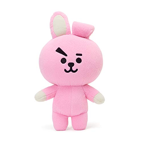 BT21 Official Merchandise by Line Friends - Cooky Character Plush Standing Figure Décor