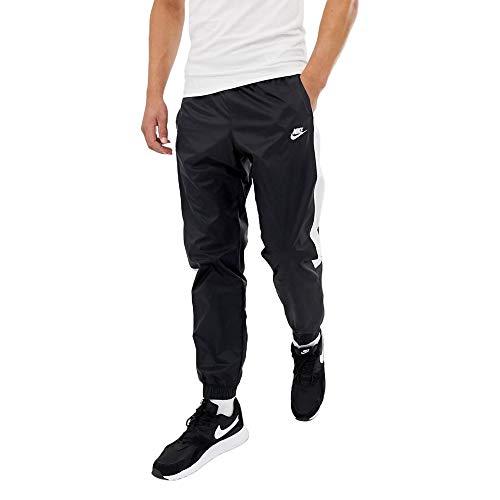 NIKE Men's Sportswear CE Pant CF Woven Core TRK (Black/White, XL) ()