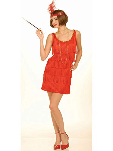 Red Flapper Costume -