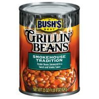 Bush's Best Grillin' Beans, Smokehouse Tradition, 22oz Can (Pack of 12) by Bush's Best