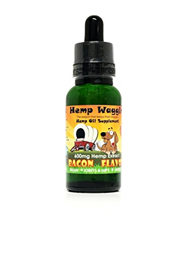 Bbq Joints (Hemp Waggin BBQ Bacon Flavored Organic Hemp Oil Extract Blend 300MG (600mg))