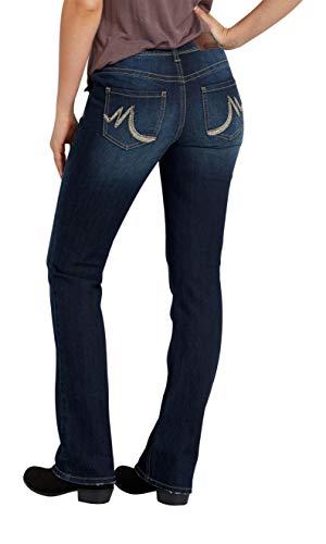 maurices Women's Denimflex Slim Boot Dark Wash Jeans 7/8 Dark Sandblast by maurices (Image #2)