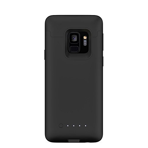 Juice Pack Made for Samsung Galaxy S9 - Wireless Charging Battery Case - Black by mophie (Image #1)
