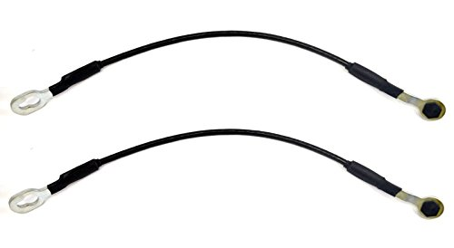 PT Auto Warehouse TC-GM006-P - Tailgate Lift Support Cable, 17 1/4