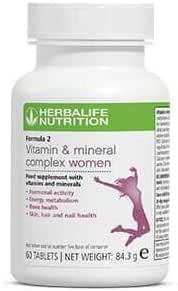 F2 Vitaminas Mujer by Herbalife: Amazon.es: Electrónica