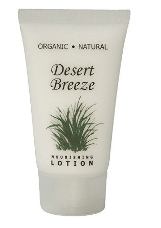 Price comparison product image Desert Breeze Lotion, 1 oz. Tube With Twist Cap with Organic Aloe And Honey (Case of 300), Vacation Rental Amenities …