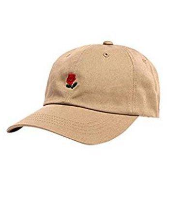 Eamooeahisshee Gorra de béisbol de Primavera y Verano Bordado Salvaje pequeñas Flores Gorras Sombreros curvos Hombres