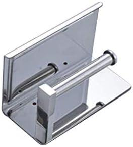 XZJJZ Papierhandtuchhalter-Wandhalter Kein Bohren Edelstahl Papierhandtuchhalter for Home Kitchen