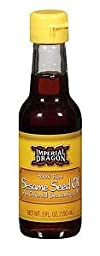 Imperial Dragon 100% Pure Sesame Seed Oil (5 fl oz) 1 Pack